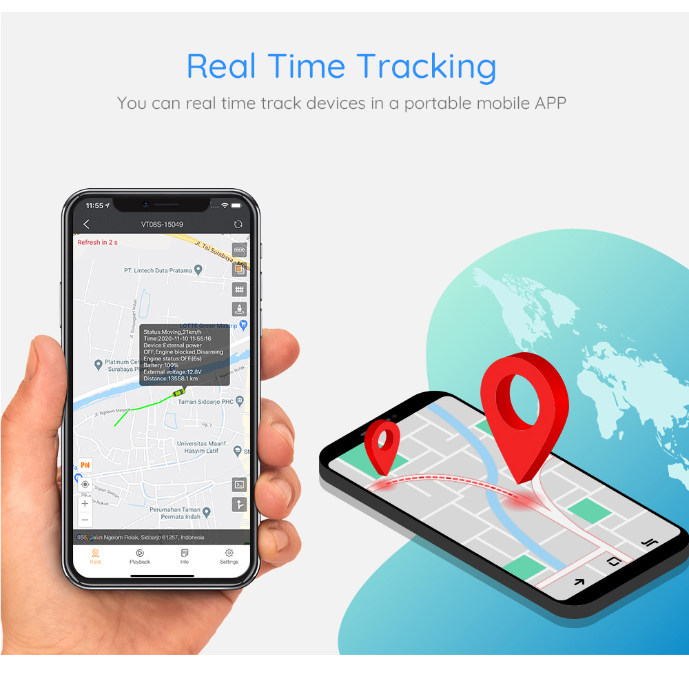 GPS Tracker System 11