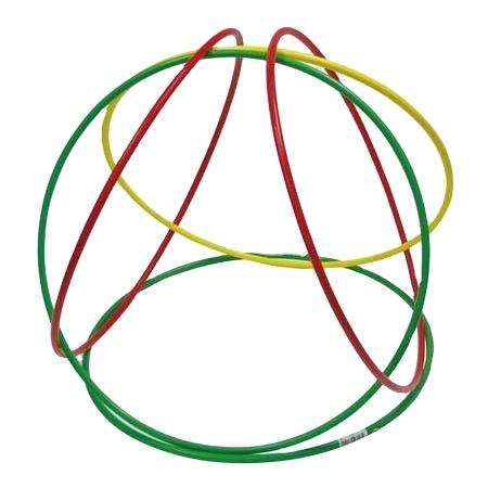 Футбольный тренировочный оборудование для игры в футбол скорость Кольца Футбол ловкость кольца