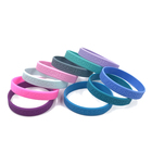 Eco-friendly Debossed Wrist Band Silicone Wristband Custom Rubber Bracelet