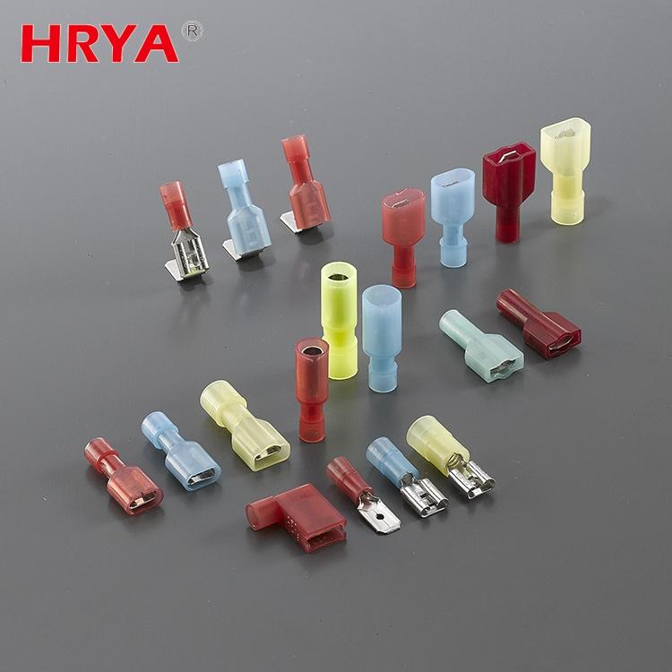 HRYA custom insulated electrical bimetal lugs crimping terminals