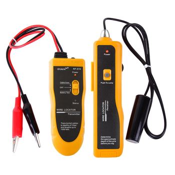 NOYAFA cable tester measures up to 50cm LED light underground cable tester function equipment NF-816 electric cable locator