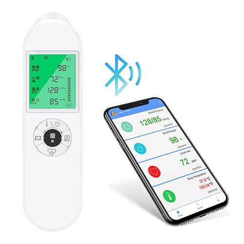 api led display digital finger type blood pressure monitor