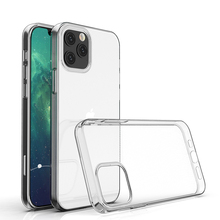Für iPhone Fall, ultra Dünne Fit Schutz Crystal Clear TPU Gel Handy Fall Für iPhone 12 Pro 6,1 2020