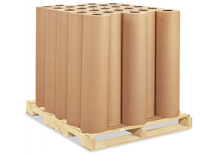 Unbleached Brown Kraft Wrapping Paper Rolls