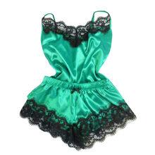 Сексуальное женское белье, эротическое белье Babydoll для женщин, кружевное нижнее белье с бантом, модное сексуальное платье, атласная ночная р...(Китай)