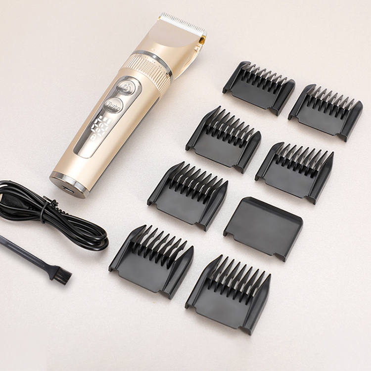 2021 Amazon 8 In 1 Househeld Salon Safety Waterproof Razor Professional Clippers Hair Trimmer For Men