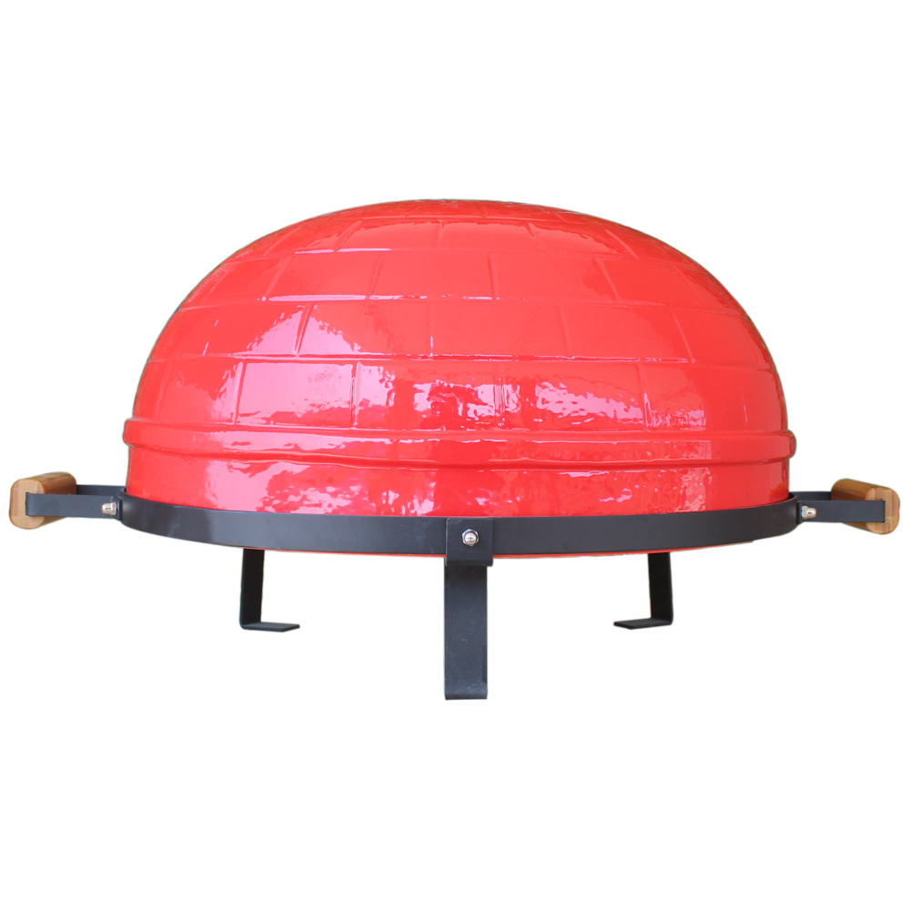 Wooden Table for Kamado Grill Bbq Stand Fire Pizza Oven