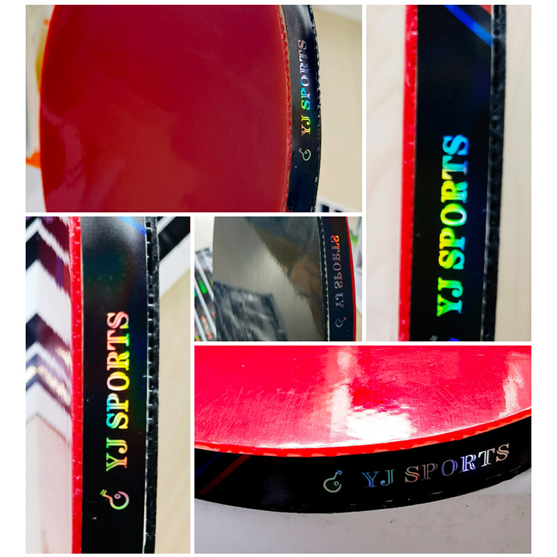YoungJoy Custom Table Tennis Racket Side LASER Protection Tape Ping Pong Paddle Edge Tape