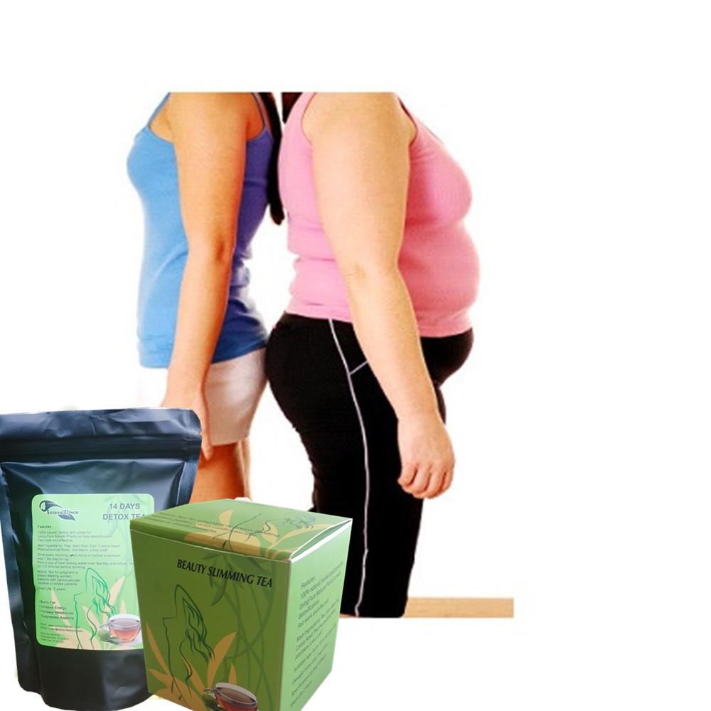 Ama top seller body weight loss slimming tea herbal weight loss OEM/ODM private label puerh slimming tea - 4uTea | 4uTea.com
