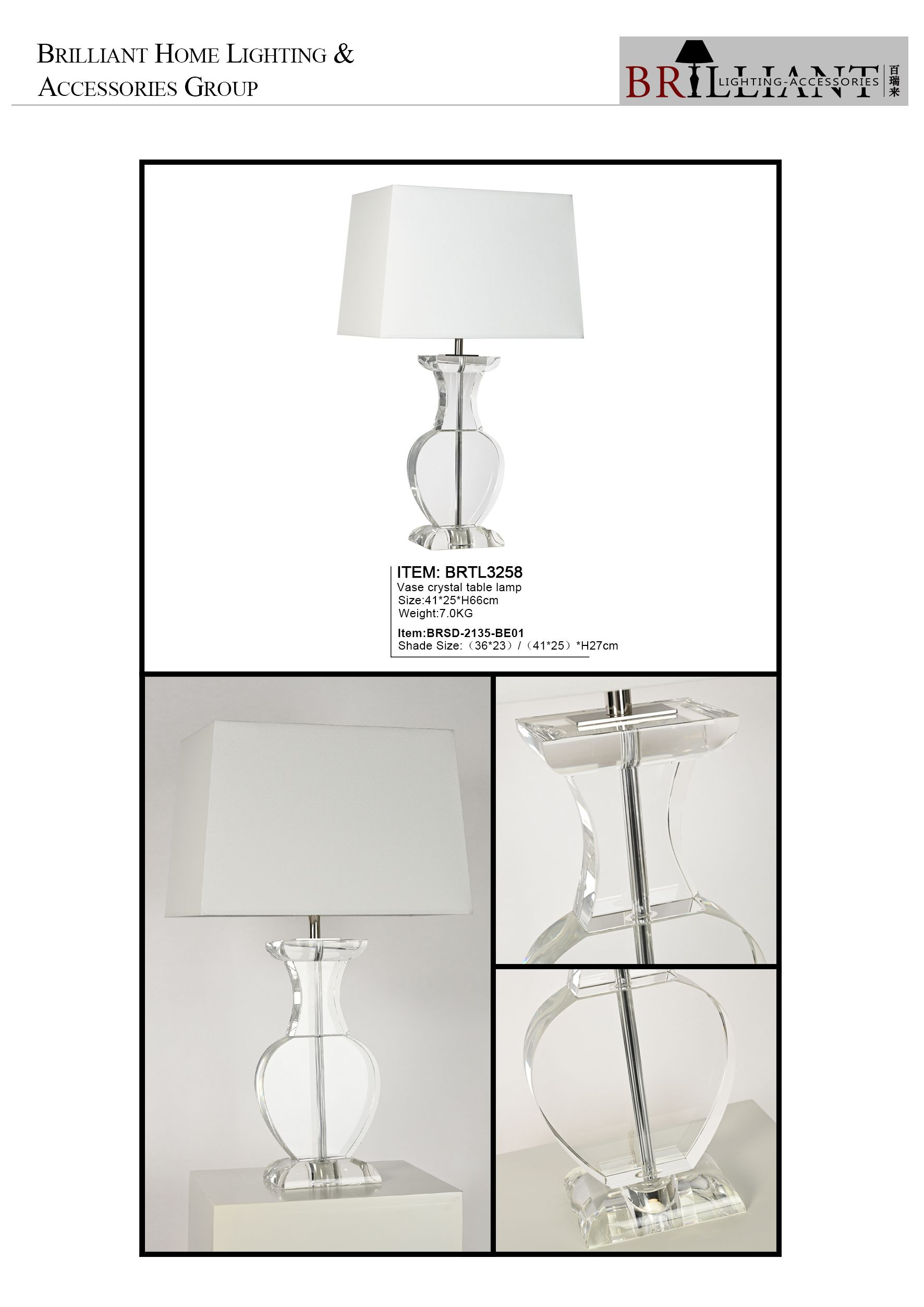 Стеклянная Настольная лампа с кристаллами в скандинавском стиле, современная настольная лампа из глины