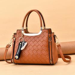 Fashion women's pu leather shoulder handbag lady bags women handbags girl tote bag for 2021 new designs