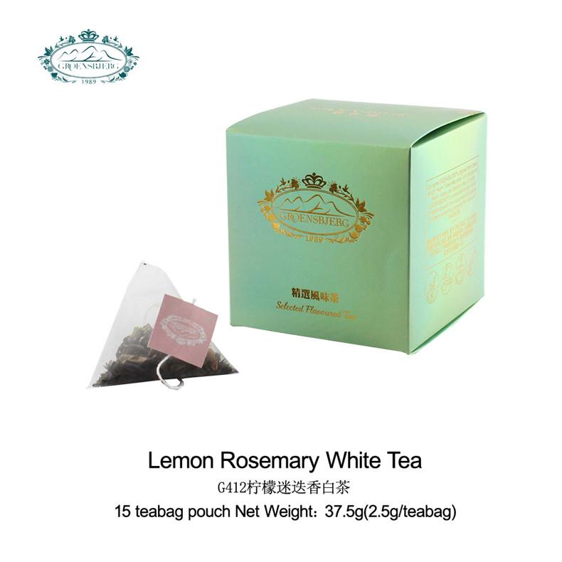 tea factory White tea lemongrass rosemary leaves applemint refreshing fragrance lemon rosemary bag tea fresh authentic - 4uTea | 4uTea.com