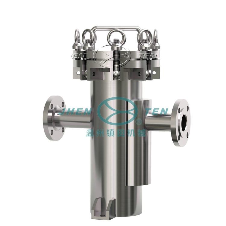 Stainless steel cbd water filter pressure vessel carbon filter housing basket strainer  tube pipe mesh filter