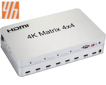 4K*2K 1.4V 4x4 Matrix Support 4K,bi-directional IR control