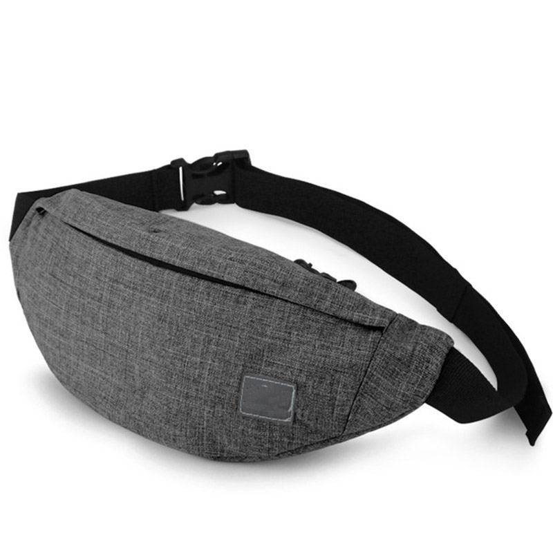 Waist bag waterproof Fashion waterproof Lightweight Cashier's box sport running Adjustable Women waist bag for Unisex