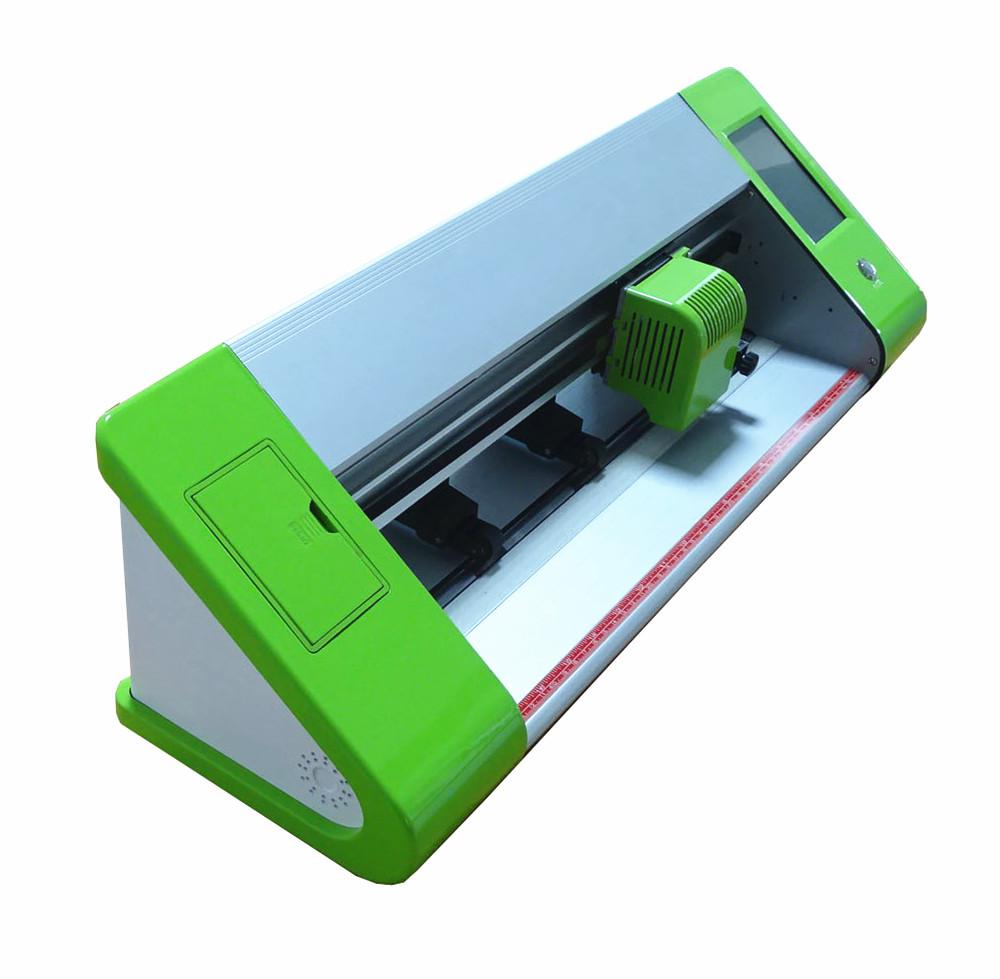 Автоматический контурный Мини режущий плоттер маленький виниловый резак зеленого цвета