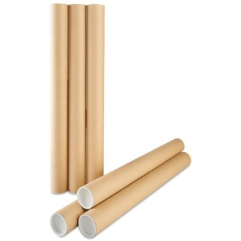 Wholesale Cardboard Shipping Tube Mailing Poster Packaging Tube