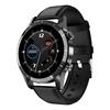 Black T7 Plus Leather sport smart watch best smartwatch