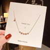 109 Rose gold necklaces