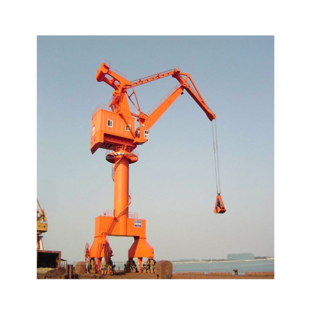 Low Price Mobile Harbor Portal Cranes With Remote Control