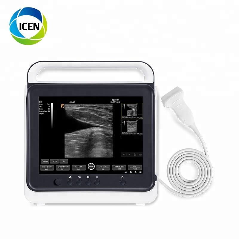 IN-A50A ноутбук портативный животных УЗИ/ветеринарная ультразвуковая машина/ветеринарный портативный ультразвуковой сканер