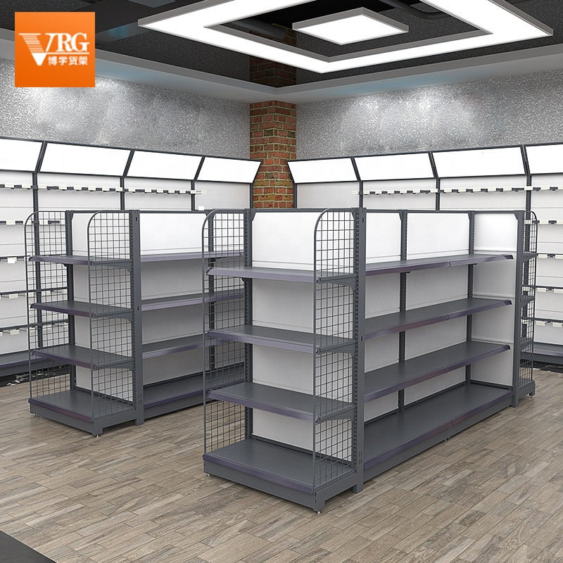 2021 hot-selling supermarket display stand customizable convenience store multi-layer snack display stand