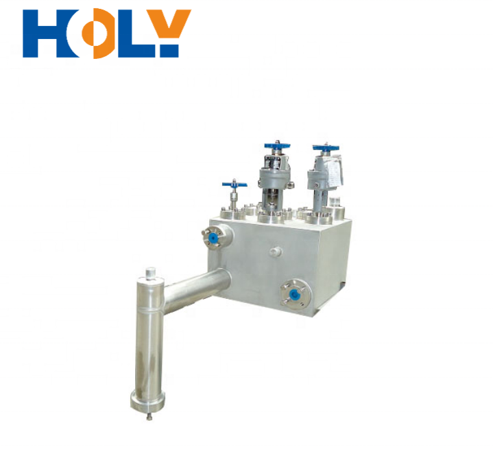 Integrate valve combinations Vacuum Insulated Valve Box Vacuum Jacketed Piping