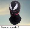 Venom mask-tongue