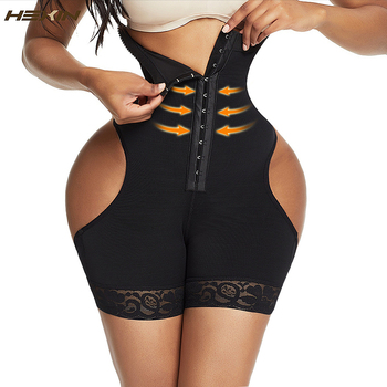 HEXIN New Design Women High Waist Body Set Shapewear Fitness Seamless Control Girdle Body Shaper Slim Waist