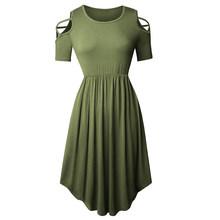 Платье Nice-forever женское, повседневное, яркое, яркое(Китай)