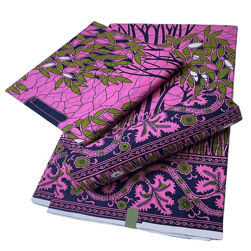 Professional Factory Custom Ankara Wax Prints Plaid Fabric African For Clothes