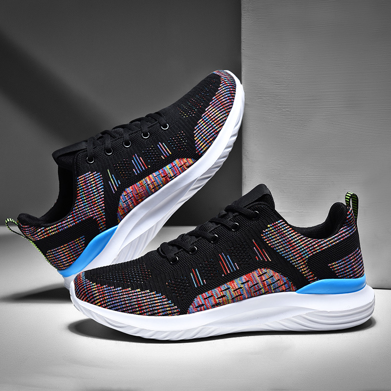 Men Running Shoes Breathable Soft Sneakers Men Harajuku Lazy Shoes Big Size Sport Trainers Custom Logo Drop Shipping