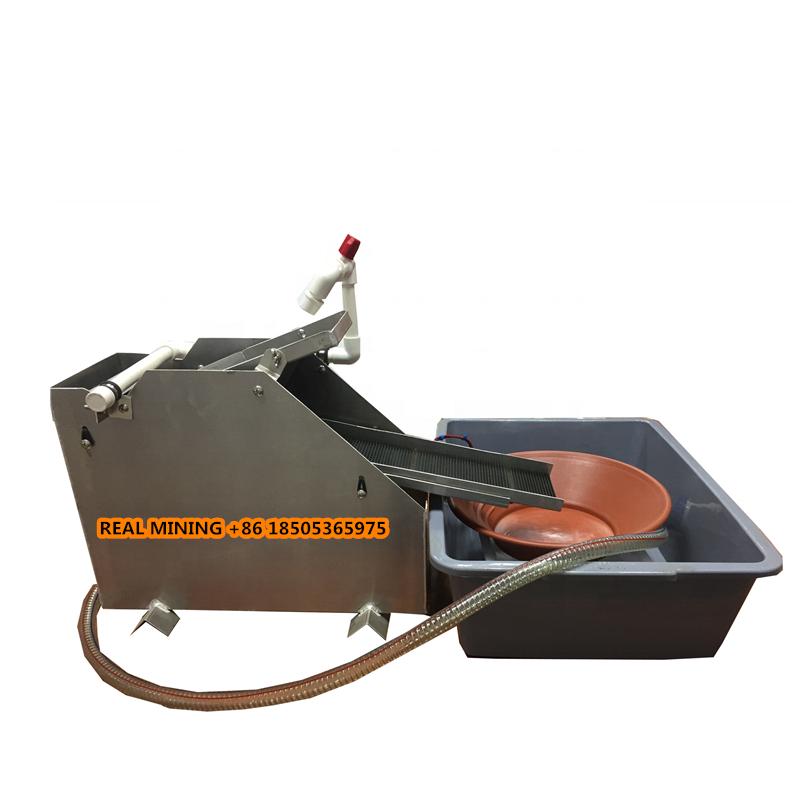 Золотое оборудование для восстановления золота с черным песком