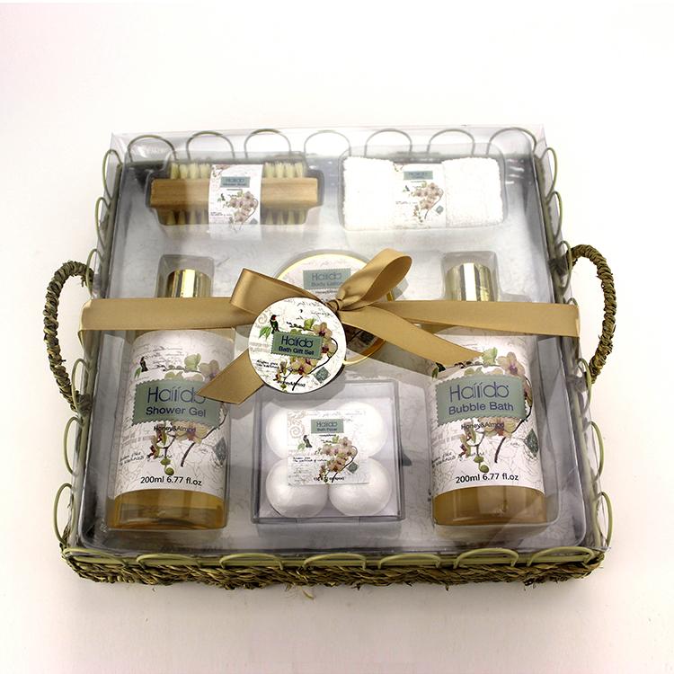 OEM китайские товары для женщин, уход за телом, роскошная ванна, спа, подарочный набор для путешествий, подарочный набор