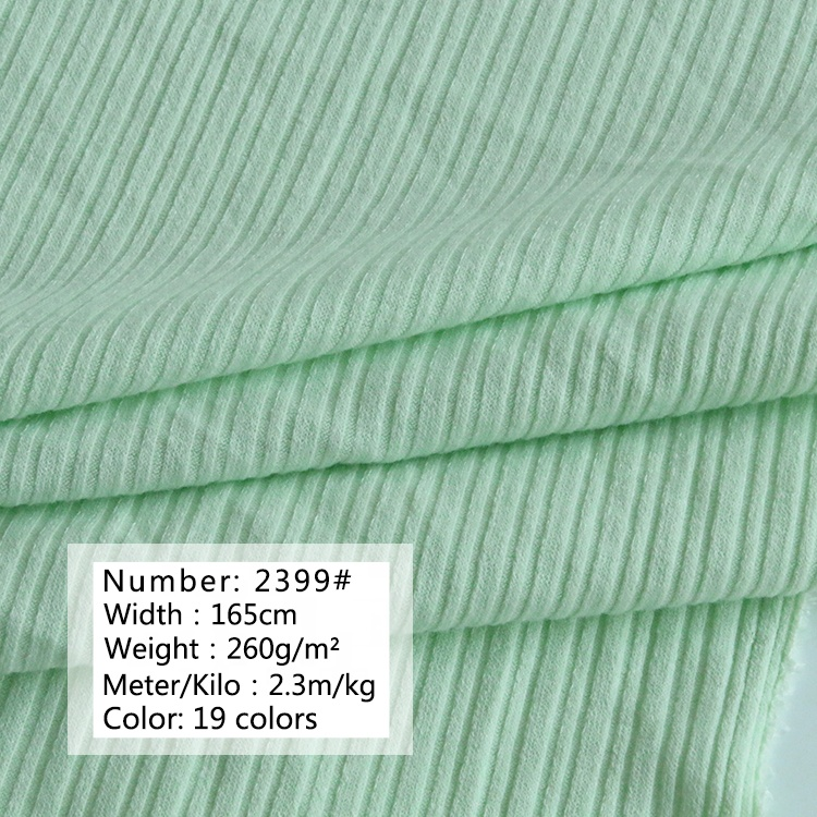 2399#Manufacturer direct sales75%polyester and 20% rayon 5%spandex knitted fabric fashion cloth for thin coat
