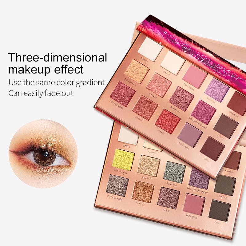 Wholesale multicolor eyeshadow palette - Custom high pigmented beauty cosmetic - Best eye shadow