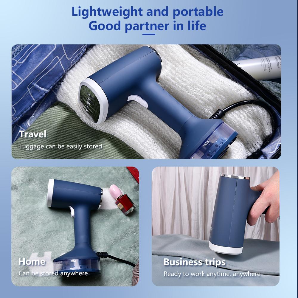 Ручной Мини-отпариватель для одежды для дома и путешествий, 1200 Вт