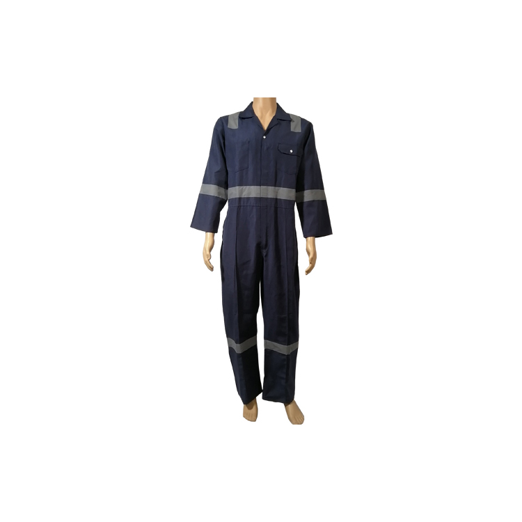 China cheaper price security uniform working coverall with reflective overall work suit work clothes