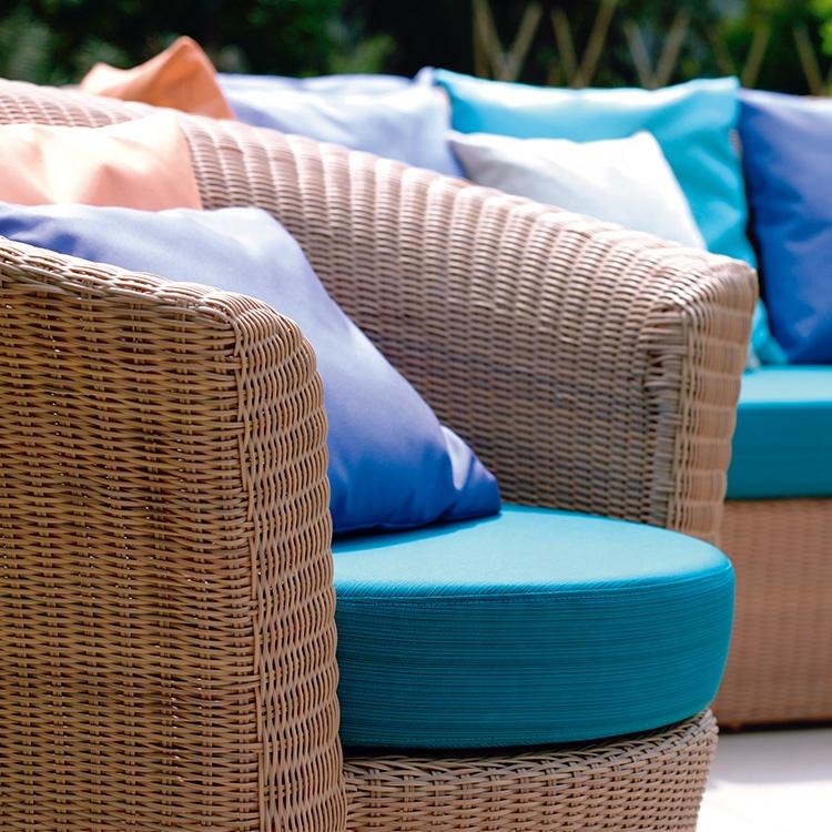 Уникальный дизайн, водонепроницаемая садовая мебель, уличный набор диванов из ротанга