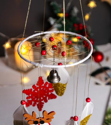 HY9064 фабрика брелок Ловец снов поставщик под заказ модное украшение перо для рождества индийский Ловец снов