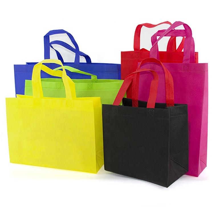 Индивидуальные многоразовые нетканые полипропиленовые сумки d w u cut для упаковки покупок