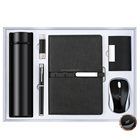 Corporate Gift Corporate Gift Set Temperature Display Vacuum Flask Usb Pen A5 Notebook Name Card Holder Wireless Mouse Corporate Business Gift Set Customizable
