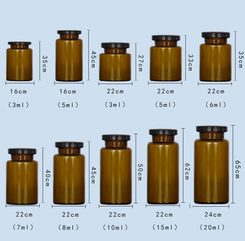 Боросиликатное лекарственное стекло флакон с 5 мл 10 мл 15 мл 20 мл 25 мл емкость загрузки