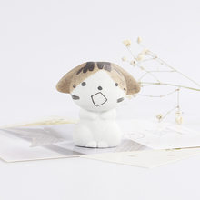 Цзиндэчжэнь Kawaii керамический Декор для дома с изображением кота, украшение комнаты, фарфоровое животное, счастливый кот, игрушка для девочк...(Китай)