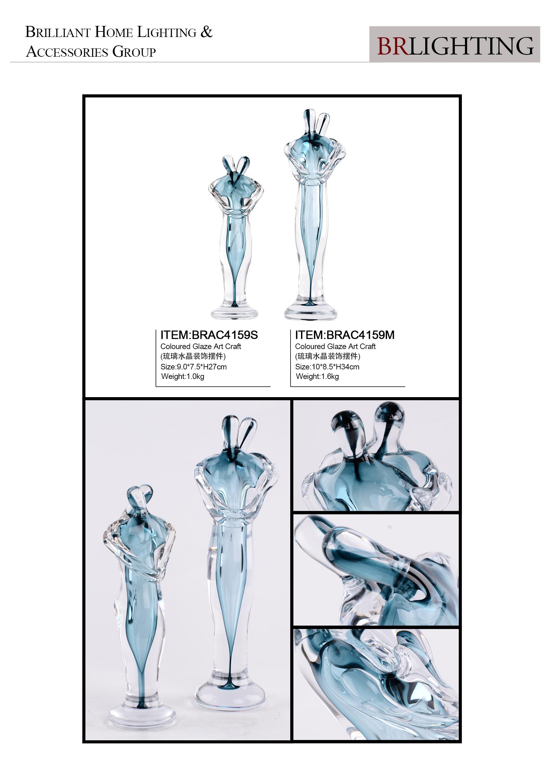 Хрустальные стеклянные фигурки ручной работы для гостиницы, Декор для дома