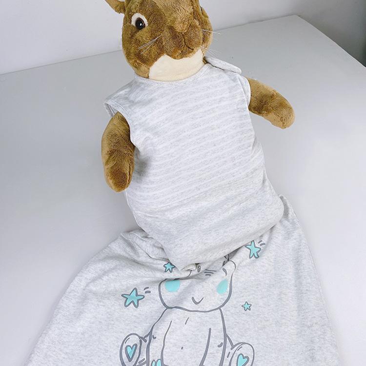 Knitted Baby Sleeping Bag Kids Bunting Toddler Sleeping Sack Custom Children Sleeping Gear Double-sided Cotton