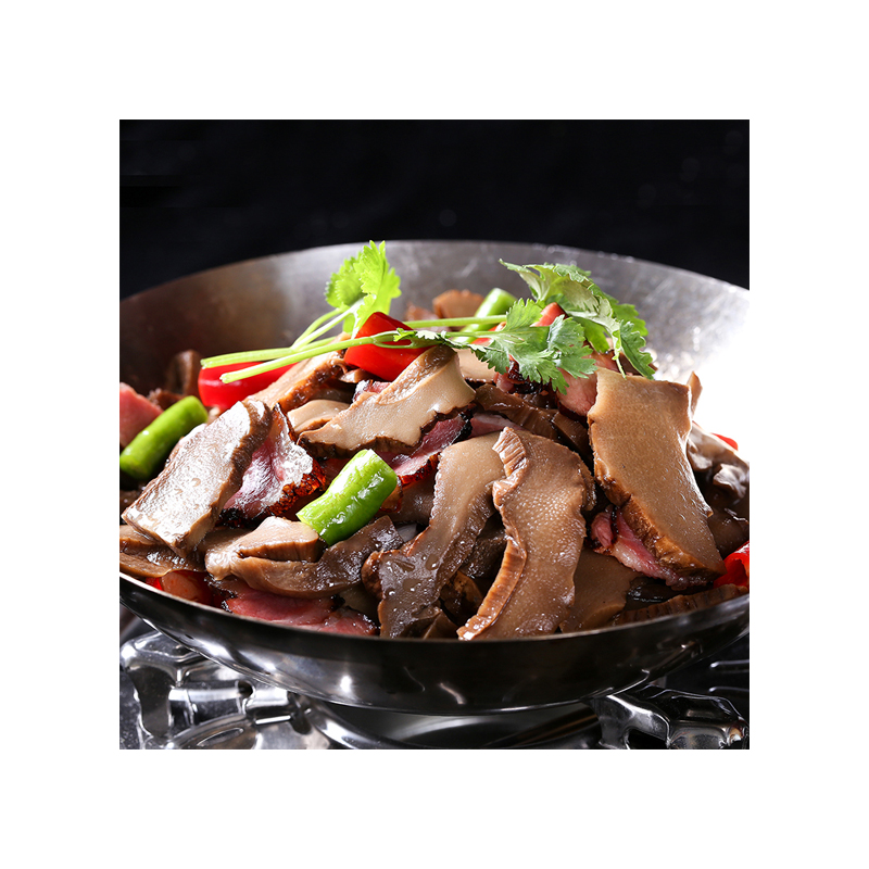 Production of 300g hand-sliced and packaged crispy bamboo shoots