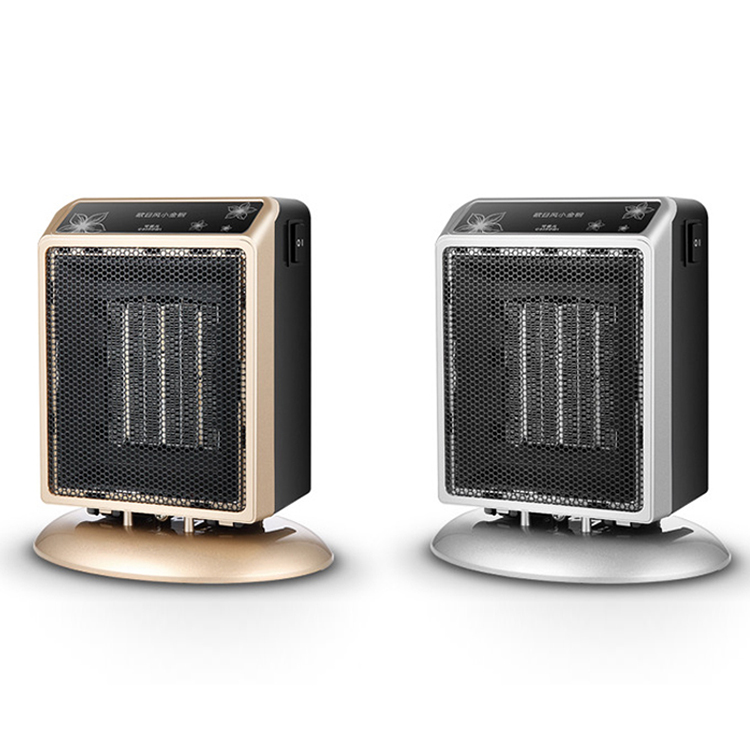 Wholesale 400W 900W Home Personal Adjustable Thermostat Portable Electric Mini PTC Fan Heater
