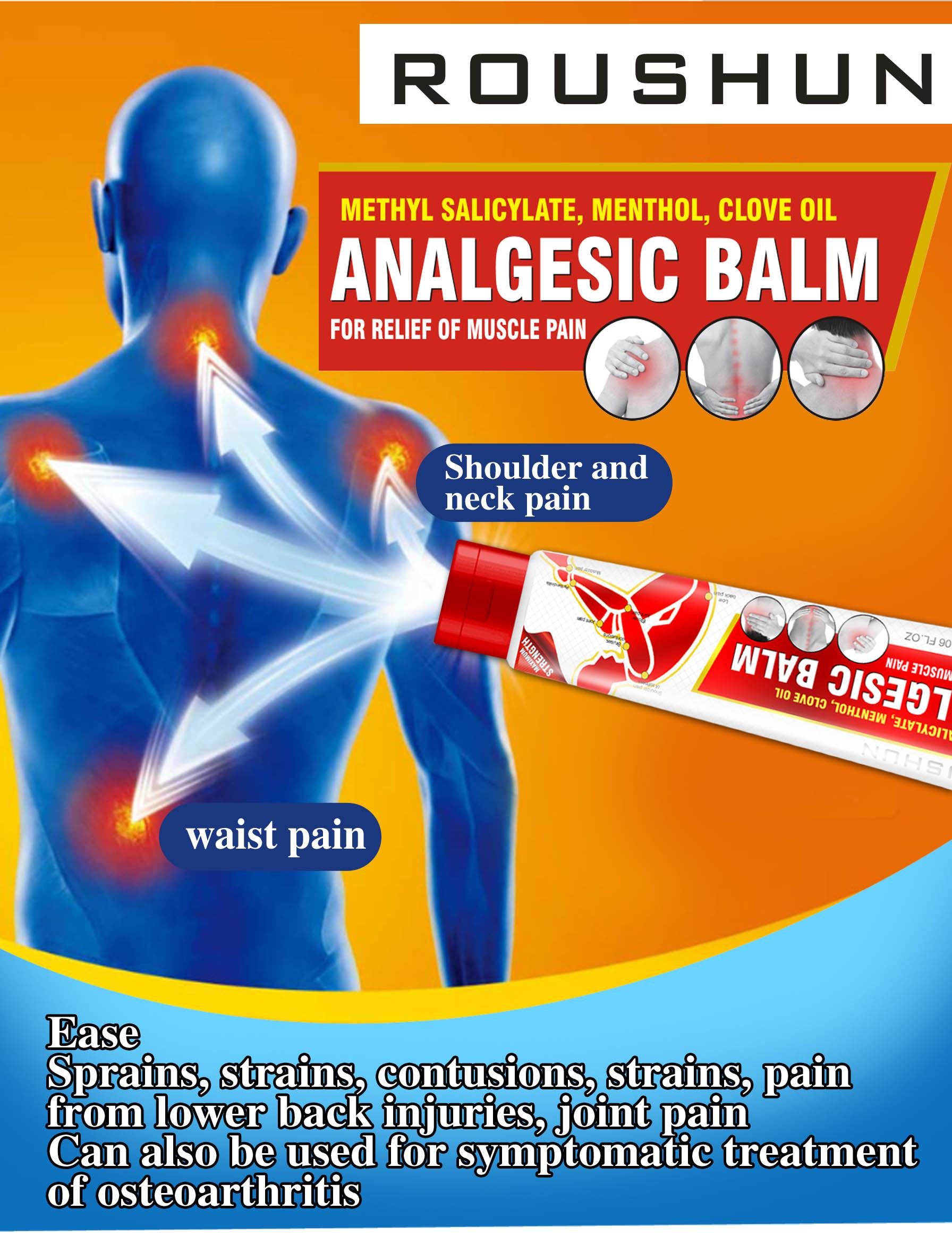 Analgesic Balm Moisturizing Pain Relief Cream