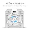 White (360 Degree Rotating Base)
